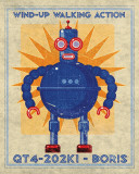 Boris Box Art Robot Prints by John Golden