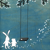 Follow Your Heart- Let's Swing Prints by Kristiana Pärn