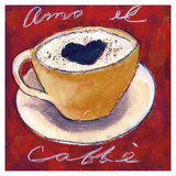 Café Amore III Prints by Tara Gamel