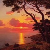 Calme de Soir, Cote d'Azur Prints by Ivan Fedorovich Choultse