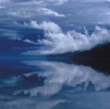 Glacial Mist Art by Leslie Mueller
