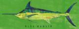 Blue Marlin Posters by John Golden