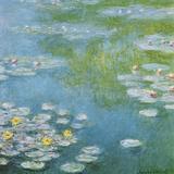 Nympheas at Giverny Affiches par Claude Monet