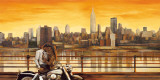 Lovers in New York Art by Edoardo Rovere