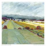 Pastel Landscape VIII Posters av Jacques Clement