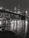 Brooklyn Bridge with World Trade Center Plakater af Christopher Bliss
