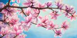 Magnolia in Fiore Kunstdrucke von Sara J. Cortesse