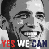 Barack Obama: Yes We Can Poster