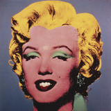 Marilyn, c.1964 (on dark gray-blue) Posters af Andy Warhol