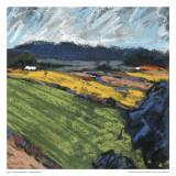 Pastel Landscape VI Affischer av Jacques Clement
