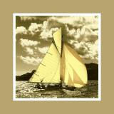 Vintage Sails I Posters