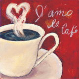 Café Amore I Prints by Tara Gamel