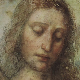 Study of Christ for Last Supper (detail) Plakater af Leonardo da Vinci