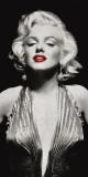 Marilyn in Evening Dress Kunstdruck
