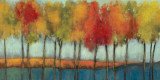 Lollipop Trees Print by Asia Jensen