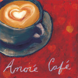 Café Amore II Prints by Tara Gamel