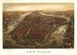 New York, c.1873 Plakater