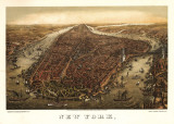 New York, c.1873 Obrazy