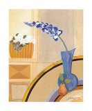 Vase bleu Affiches par Juliane Jahn