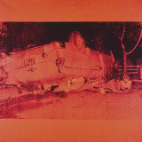Five Deaths on Orange (Orange Disaster), c.1963 (orange car) Prints by Andy Warhol