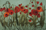 Poppyfield II Prints by Karen Tusinski