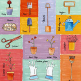 Garden Tools Prints by C. Gandini