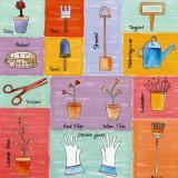 Garden Tools Prints by C. Gandini