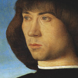 Portrait of a Young Man (detail) Posters by Giovanni Bellini