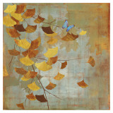 Ginkgo Branch I Art by Asia Jensen