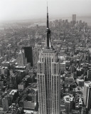 Empire State Building Poster von Christopher Bliss