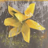 Tulip Fresco (yellow) Posters by Erin Clark