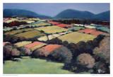 Pastel Landscape VI Plakater av Jacques Clement