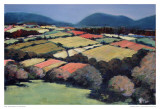 Pastel Landscape VI Posters by Jacques Clement