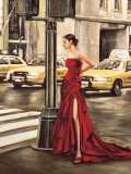 Woman in New York Prints by Edoardo Rovere