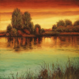 River Sunset II Affiches par Neil Thomas