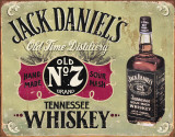 Jack Daniels - Hand Made Plaque en m&#233;tal