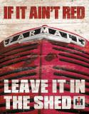 Farmall - If it Ain't Red Plaque en métal