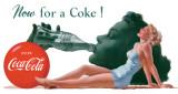 COKE - Now For A Plaque en métal
