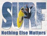 Surf - Matters Most Plaque en métal