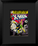 Marvel Comics Retro: The X-Men Comic Book Cover 137, Phoenix, Colossus Framed Giclee Print