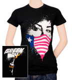 Juniors: Green Day - American Mask Shirts