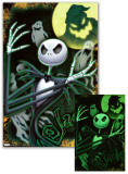 Nightmare Before Christmas - Glow-In-The-Dark Poster Print