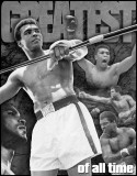 Muhammad Ali - &quot;The Greatest of All Time&quot; Tin Sign