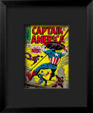 Marvel Comics Retro: Captain America Comic Book Cover 105, Batroc Framed Giclee Print