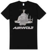 Airwolf - Helicopter Camiseta