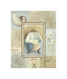 Tranquil Bath II Giclee Print by Lisa Audit