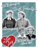 Lucy - Best Friends Tin Sign