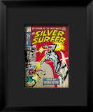 Marvel Comics Retro: Silver Surfer Comic Book Cover 7 Framed Giclee Print