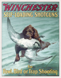 WIN- Foul & Trap Shooting Tin Sign