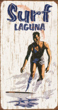 Surf - Laguna Tin Sign